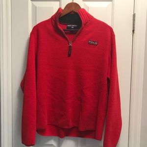 Polo Ralph Lauren Sport 1/4 zip pullover/XL/Red